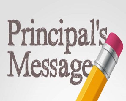 Principal's Summer Message