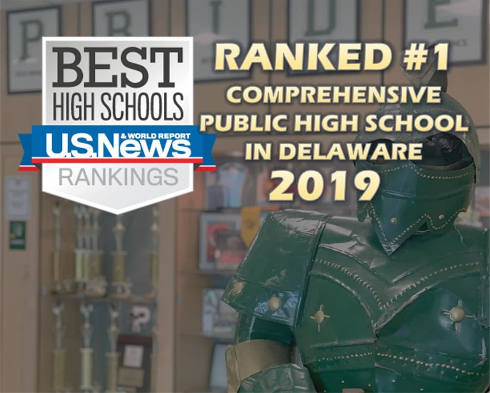 MPHS Ranked #1 Comprehensive Public High School in Delaware 2019