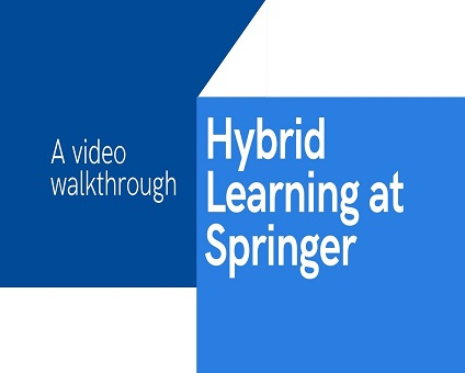 Hybrid Learning at Springer