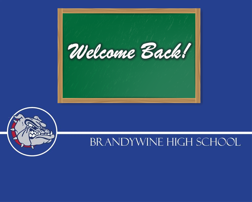 Welcome Back Message from Principal Rolph